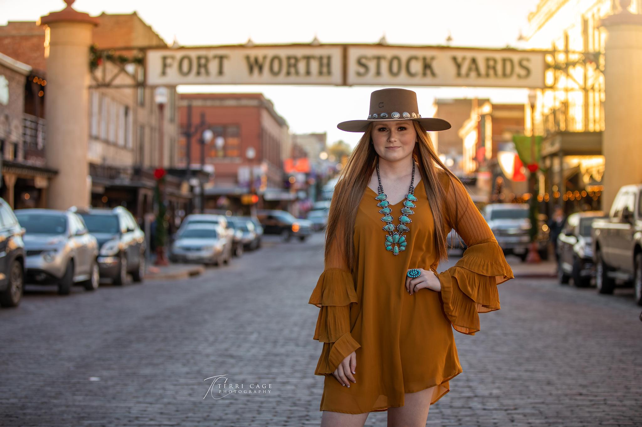 Senior in the Stockyards