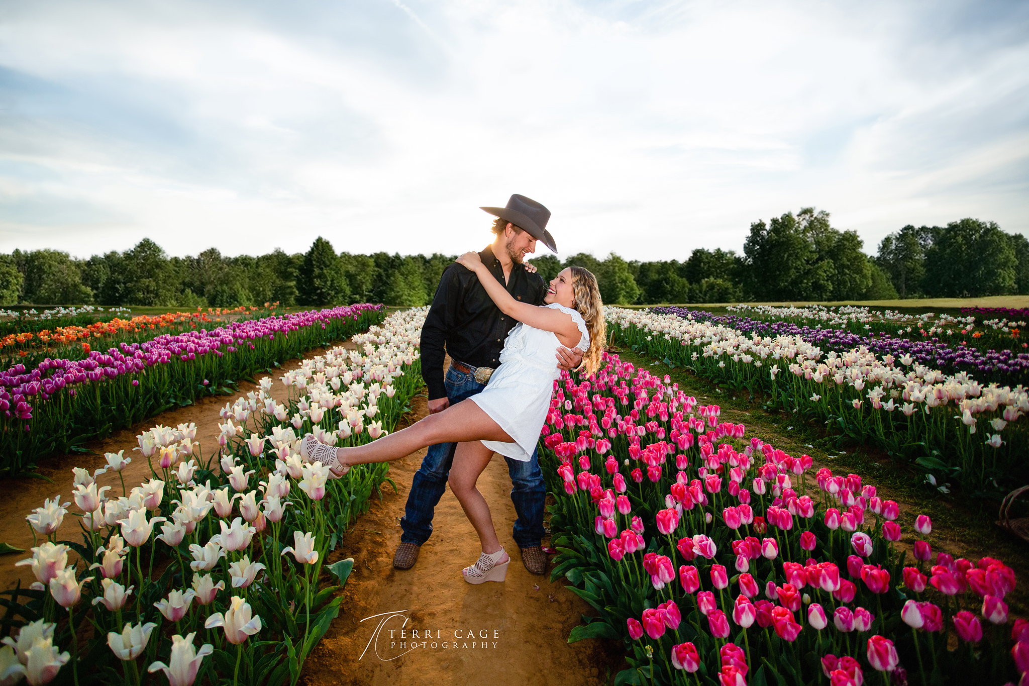 Proposal in Tulips