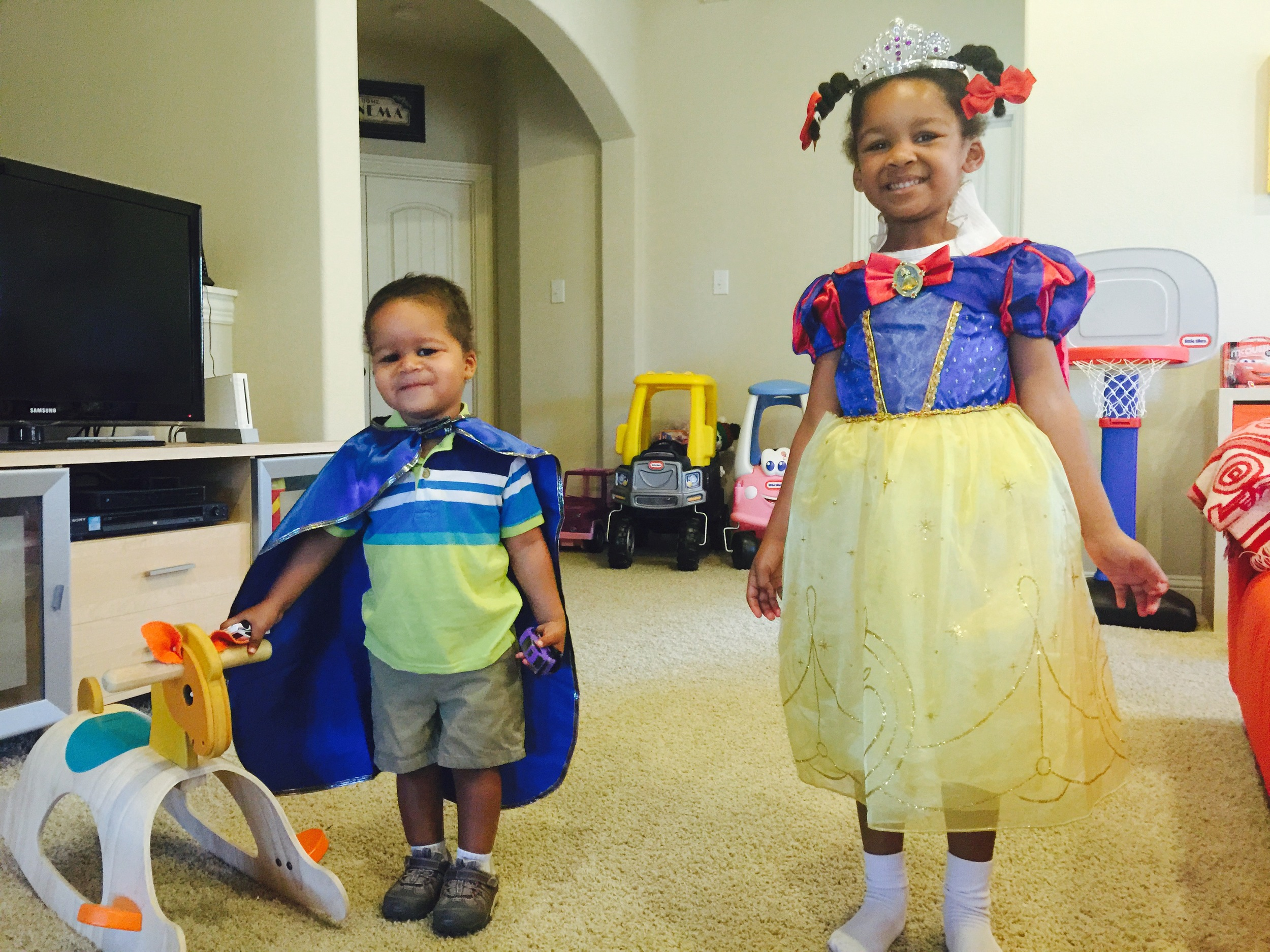 Day 352: Dress Like a Knight and Princess Day at School
