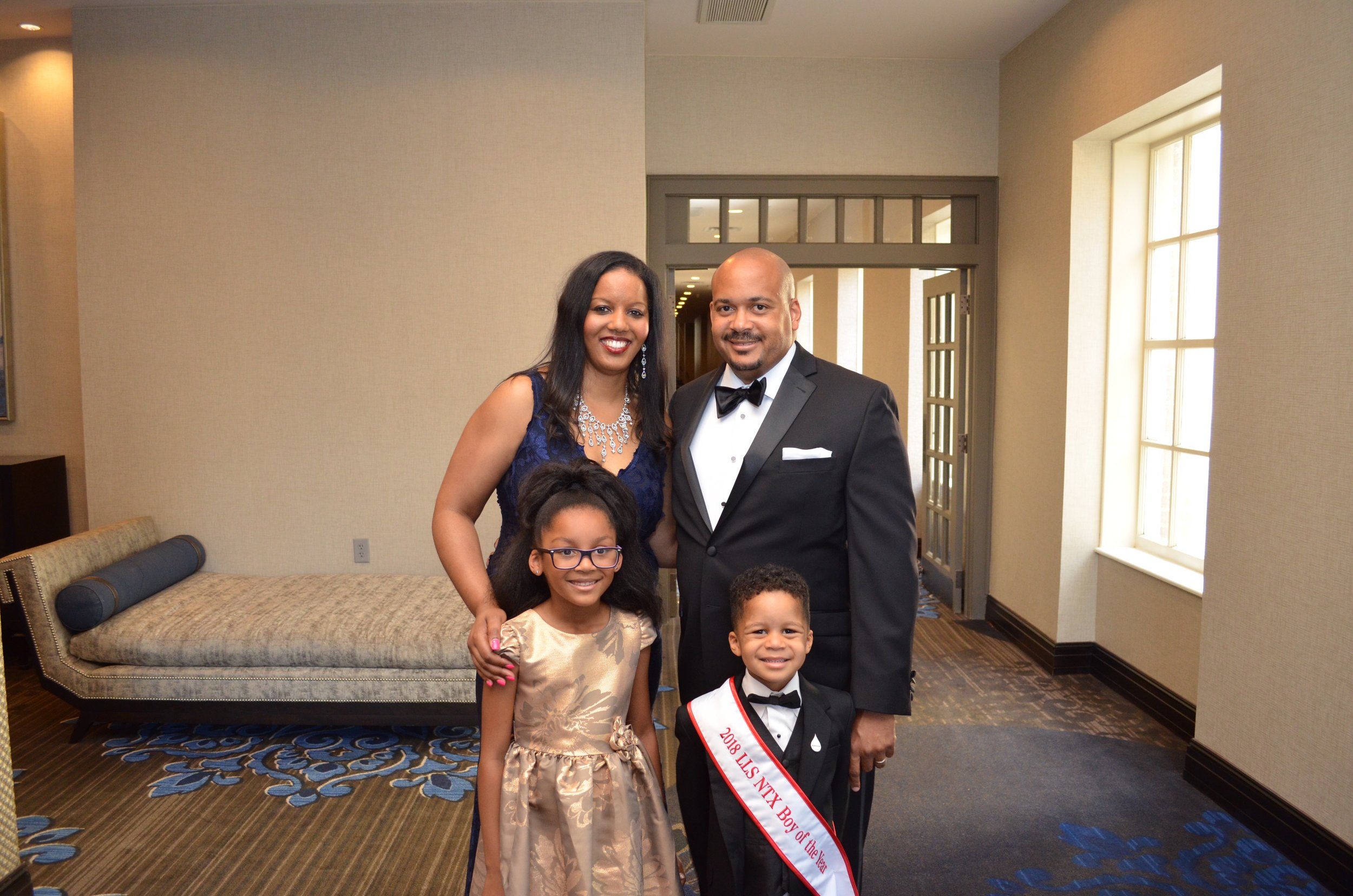 Day 1407: Forth Worth Leukemia and Lymphoma Society Man and Woman of the Year