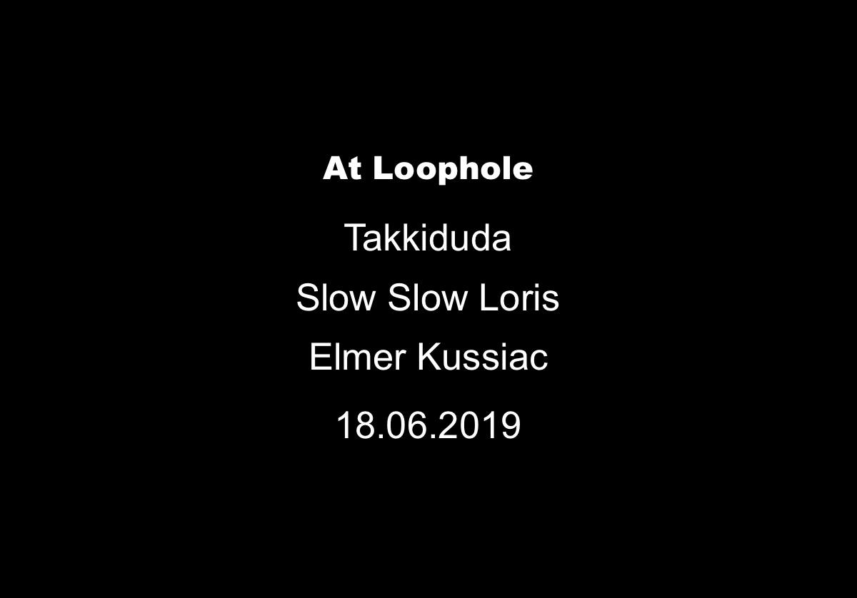 June 18, 2019 - At LoopholeEvent LinkLoophole, Boddinstrasse 60, 12053 Berlin, Germany