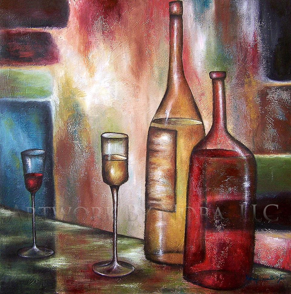 Wine Bottles II