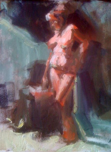 Figure Study oil 8x10 750.00.jpg