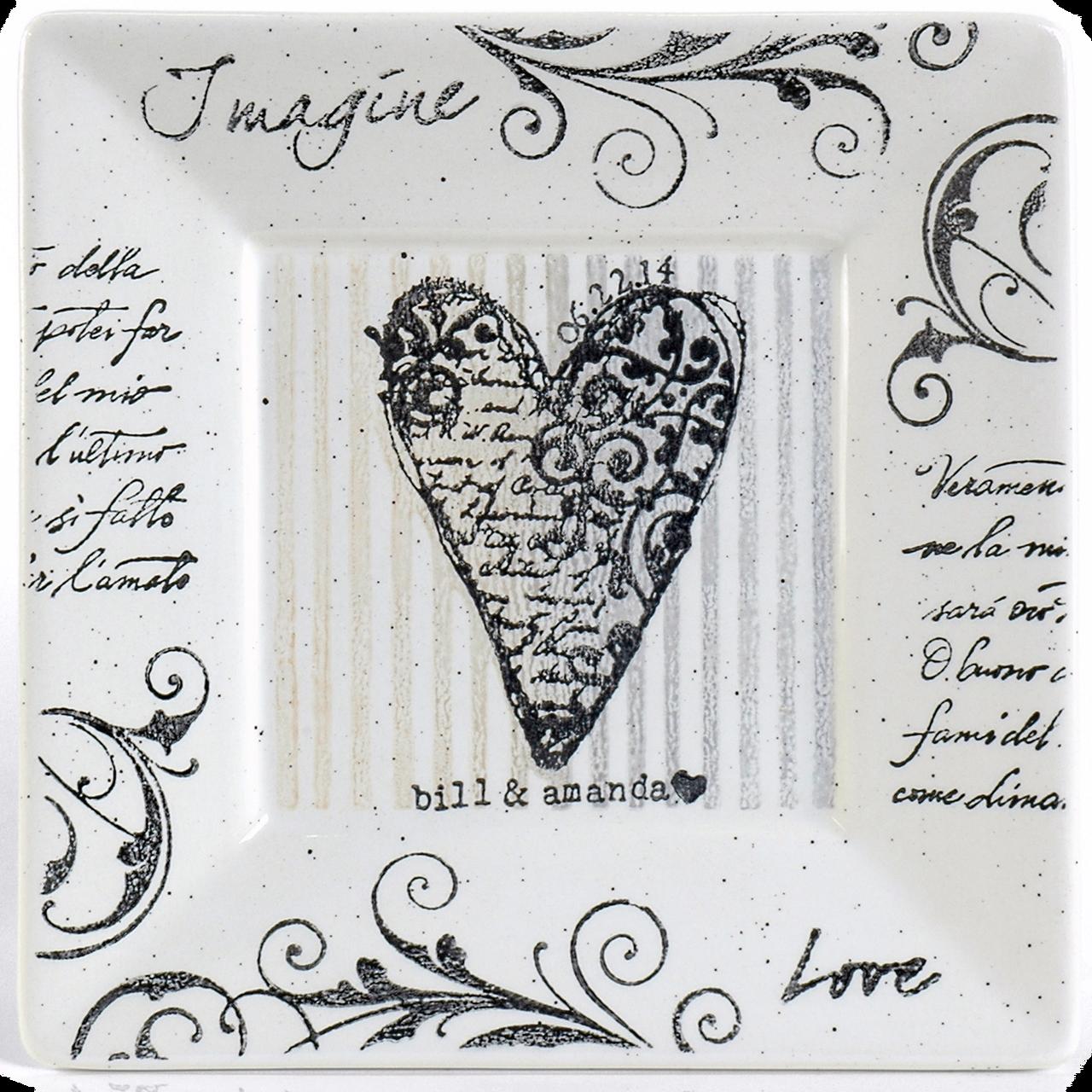 Imagine Love Plate