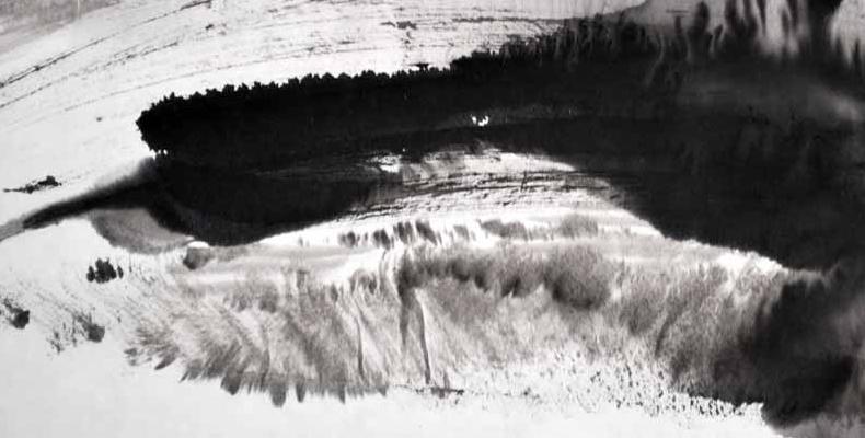 Winter Landscape Ink Brush - R. Moran.jpg