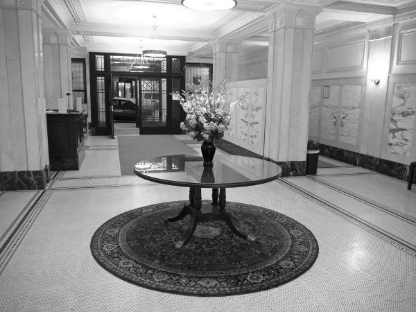 Music Works Studios entrance hallway