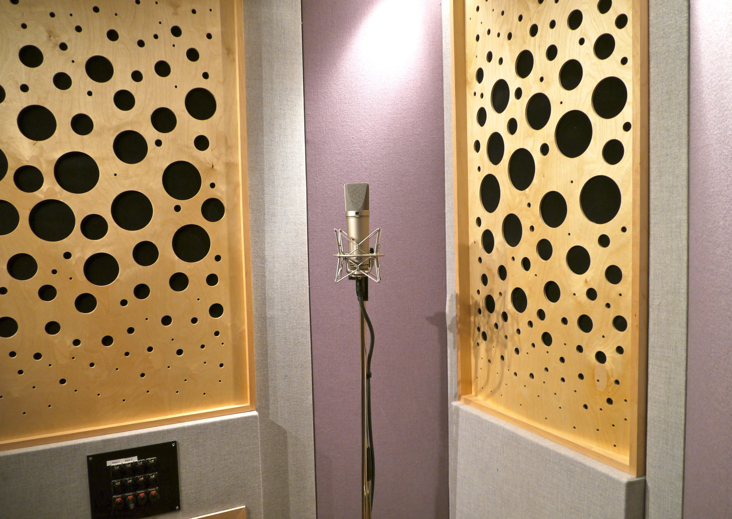 Studio A Vocal Booth