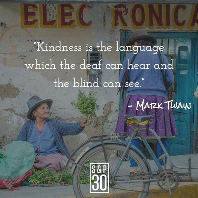 "Well let's get busy living life out loud, shall we?⠀ --⠀ ""Kindness is the language which the deaf can hear and the blind can see."" - Mark Twain⠀ .⠀ .⠀ .⠀ #liveoutloud #togetherisbetter #stayhumble #humbleness #bandtogether #human #humanity #leader #leadership #quotepic #quotepics #inspiration #inspirational #inspired #inspiredlife #inspiringquotes #inspirationalquotes #motivation #motivationalquotes #motivationmonday #wisdomwednesday #lifequotes #instaquotes #kind #kindness #bekind #kindnessquotes #behappy #dogood #fulfillment"