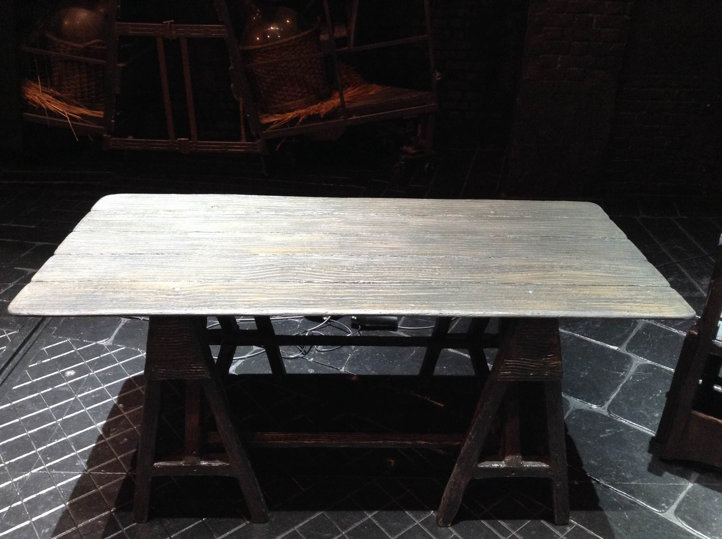 Table repair at Les Mis1.jpg