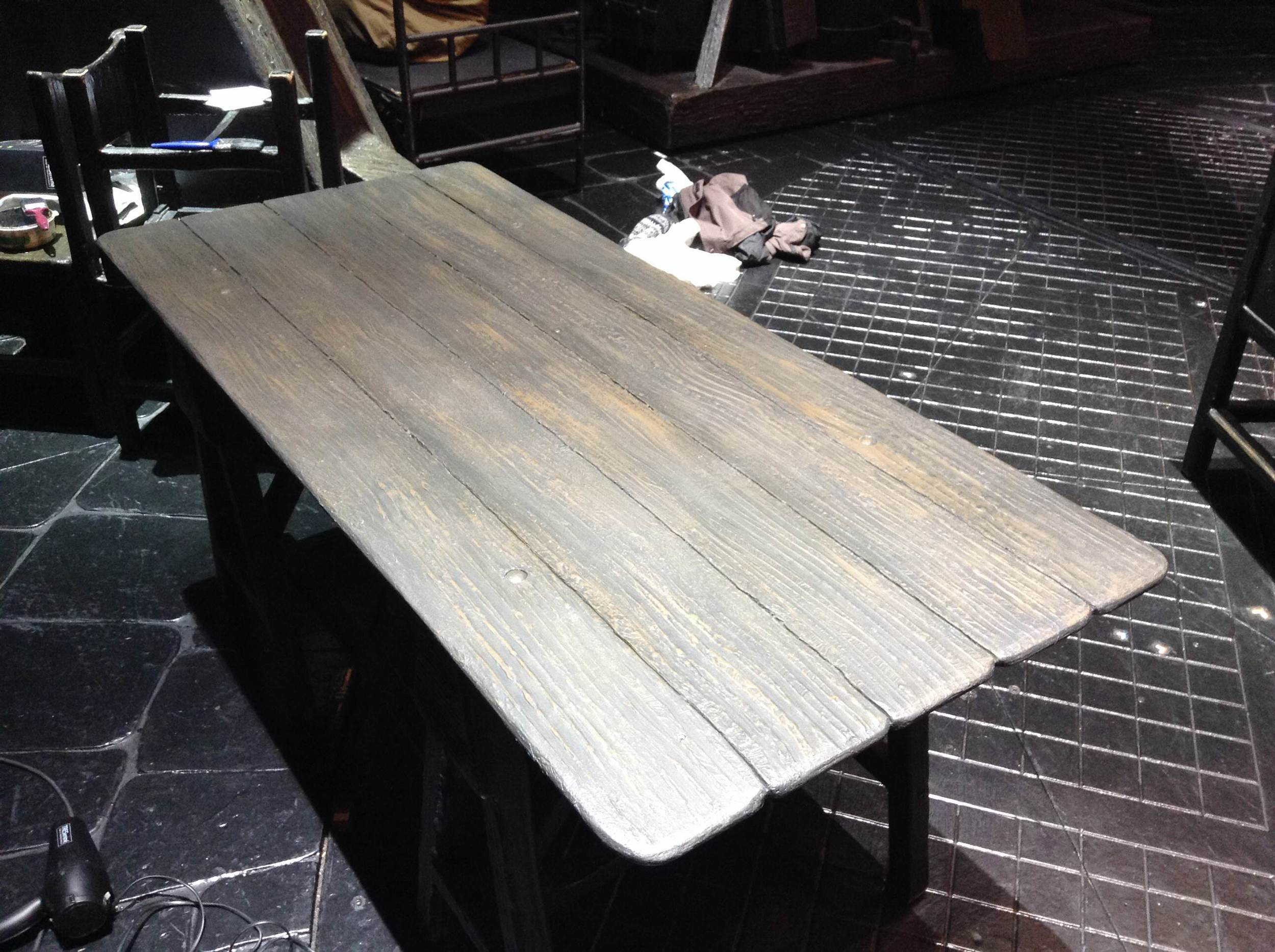 Table top repair - Les Mis