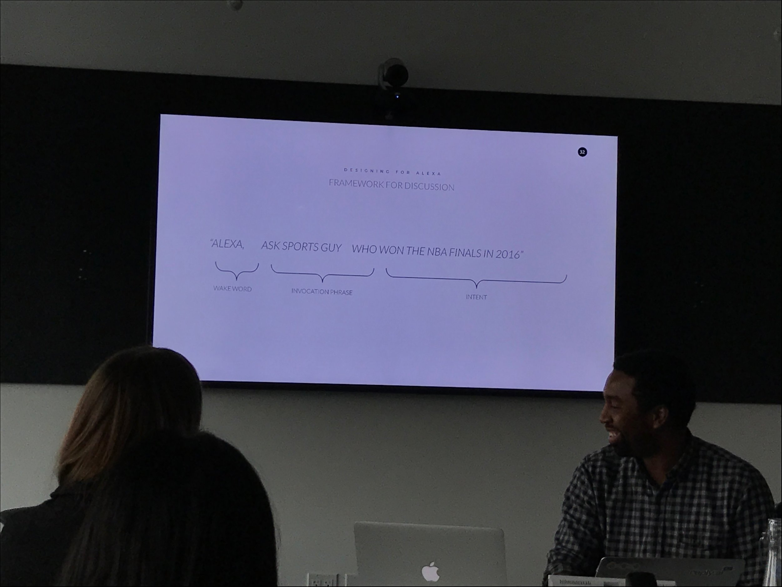 Learning all about the structure of an Alexa command.