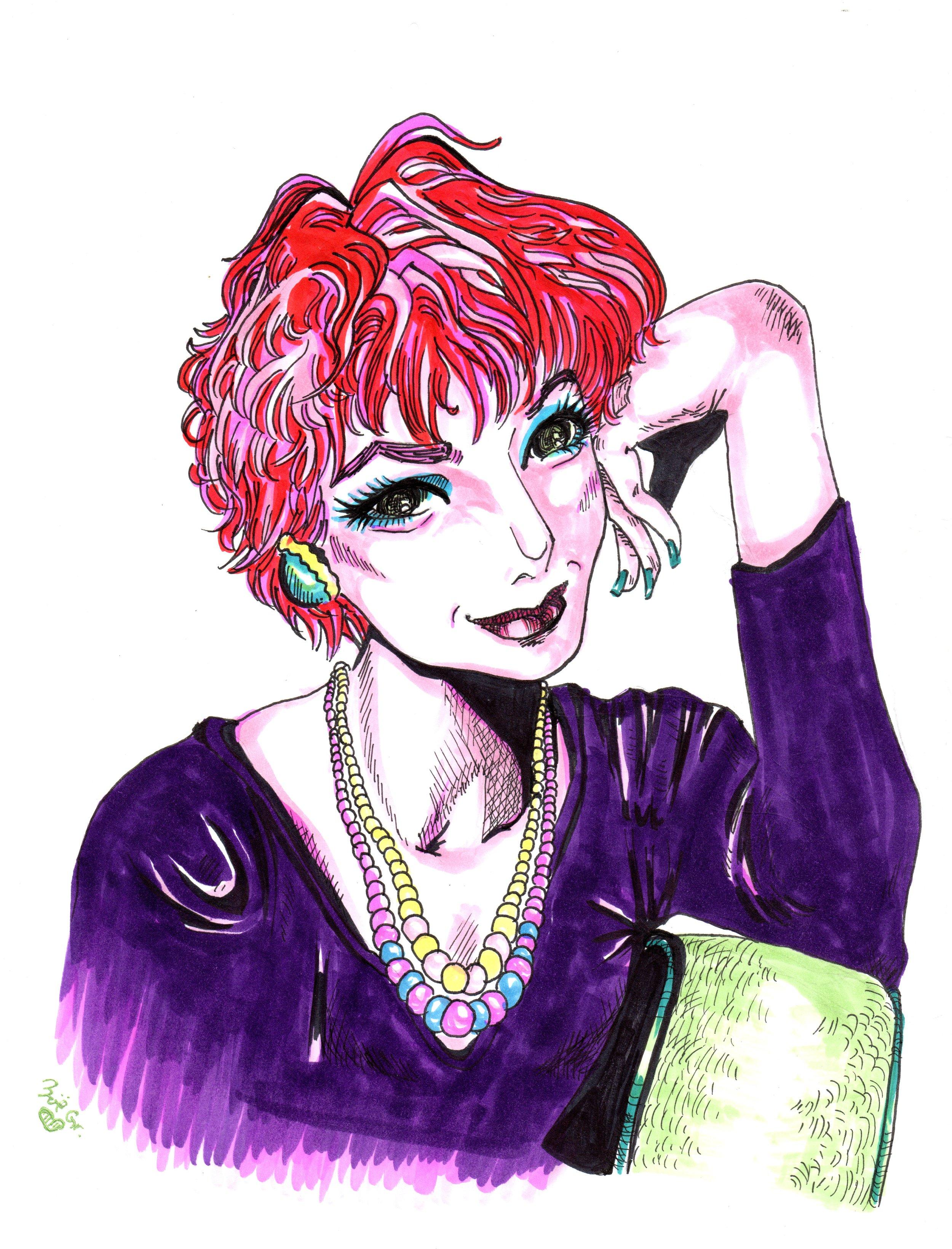Portrait of Shirley MacLaine, 2016