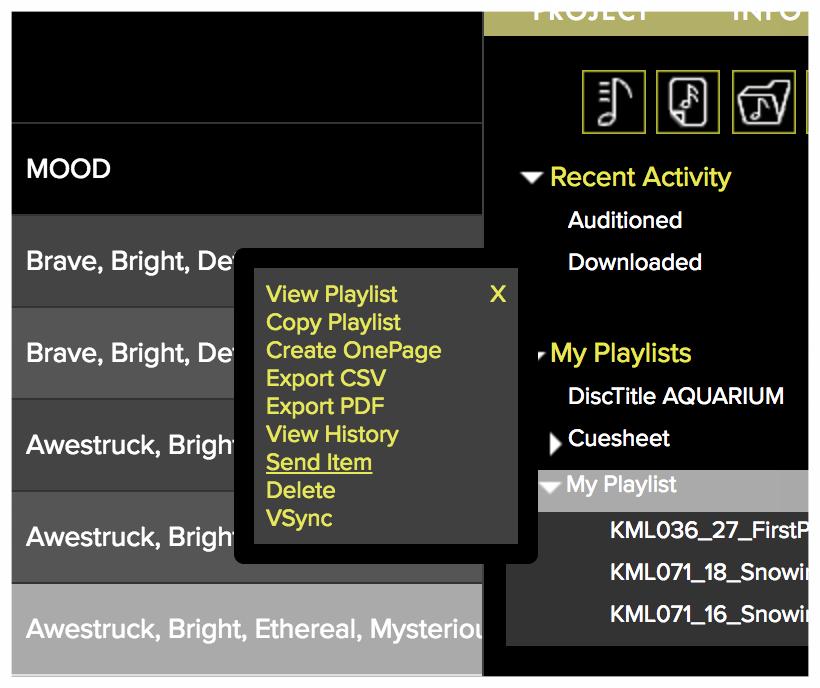 Playlist-dropdown-menu