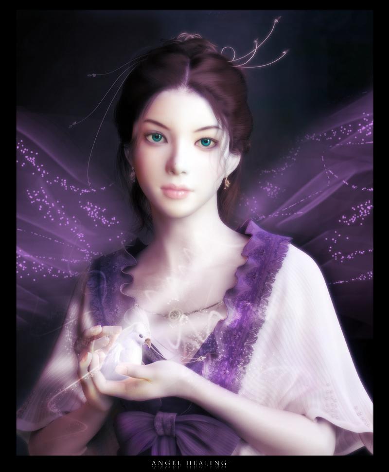Angel healingfrom divine art