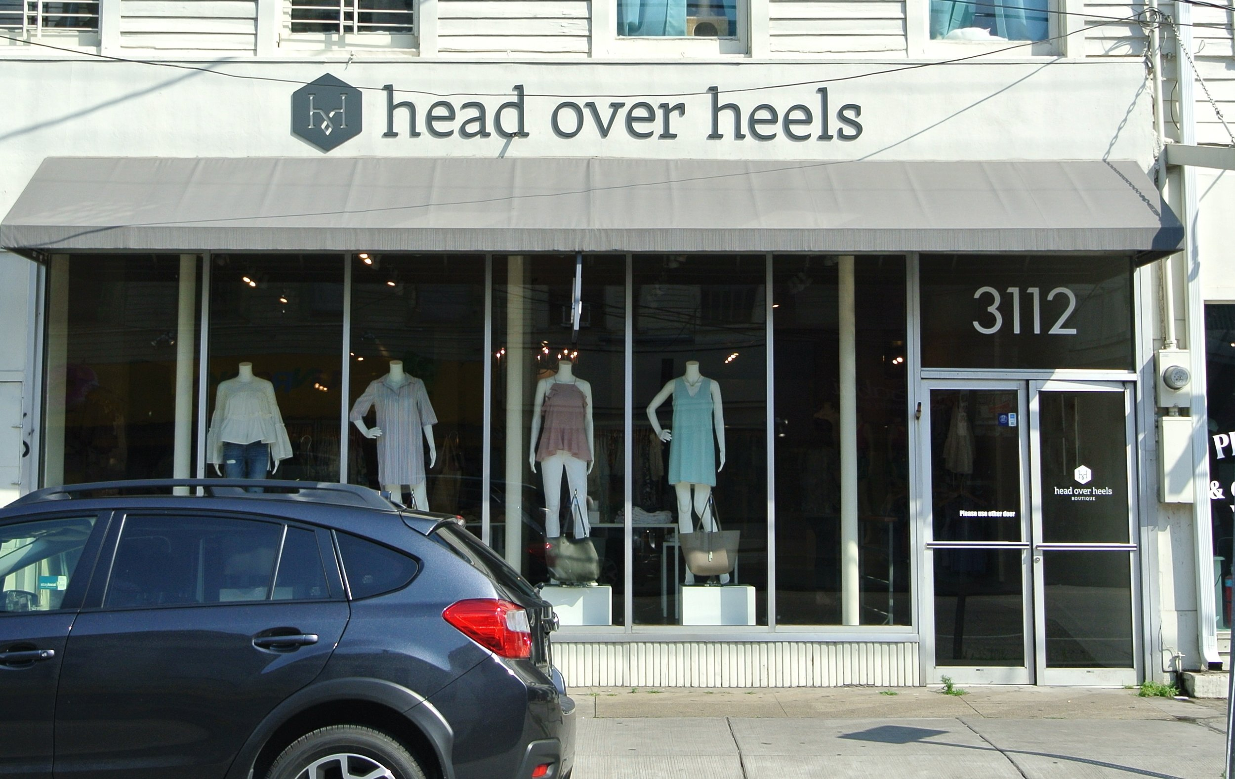 Head Over Heels Boutique. Irish Channel.