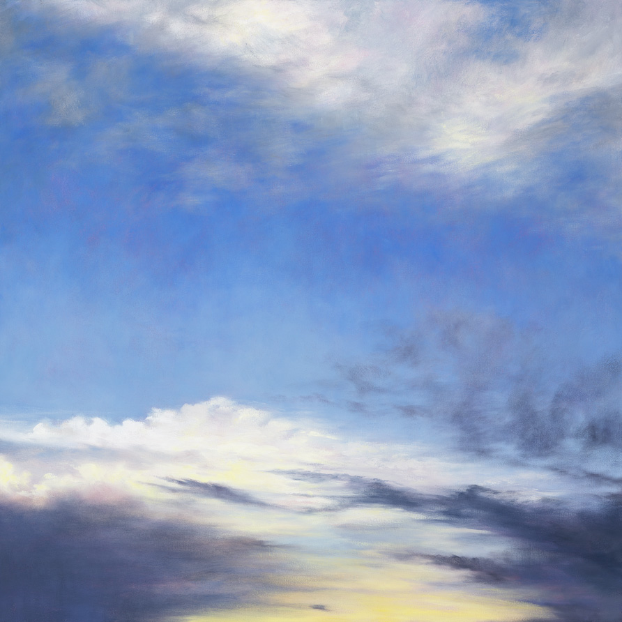 Breathing Space, Oil on Canvas, 76x76cm, Sold