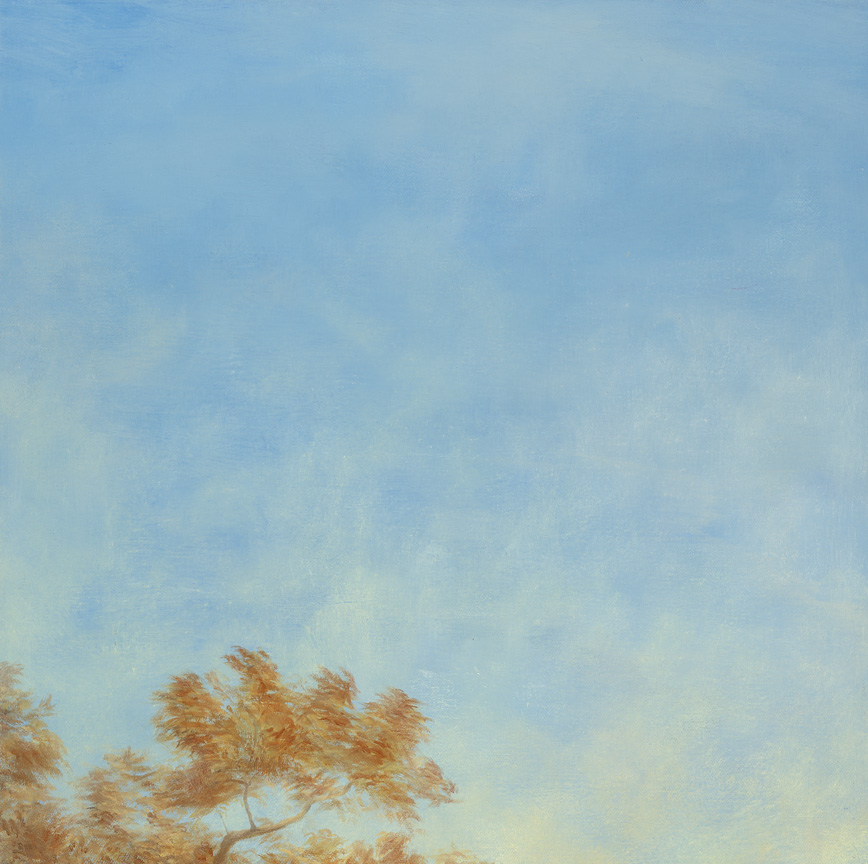 In the Air IV, Oil on Canvas, 30x30cm, $550
