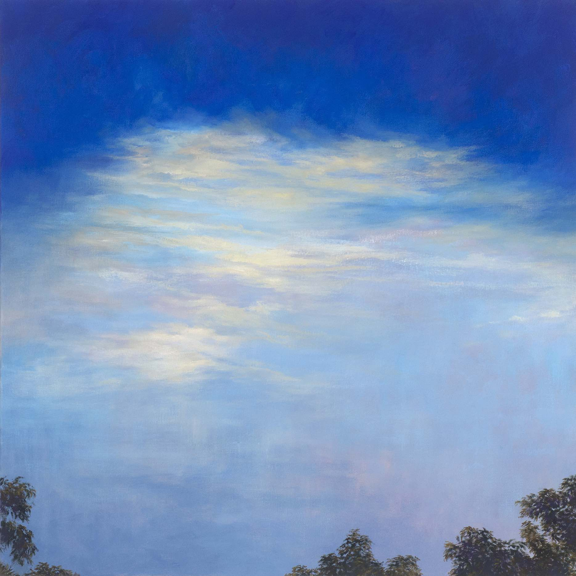 Wisdom Wonder, Oil on canvas, 50 x 50cm, $1450