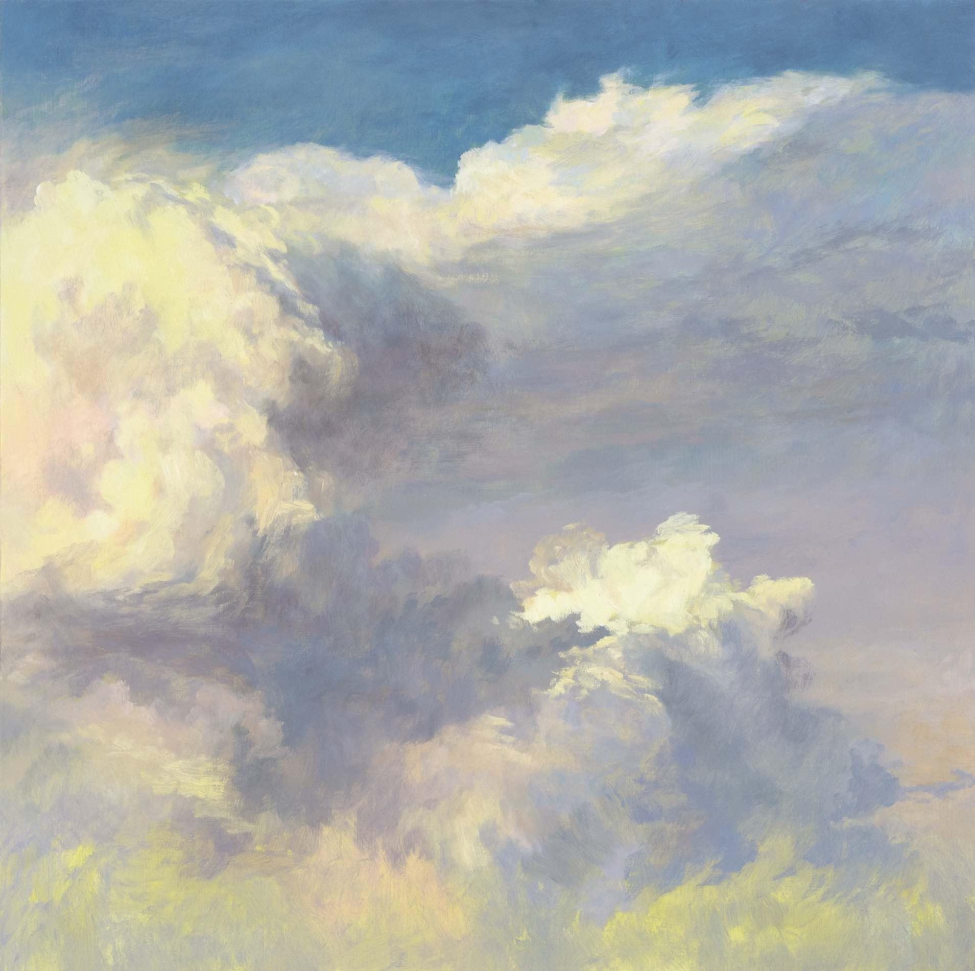 Winter Wind, Oil on board, 60 x 60cm, Sold