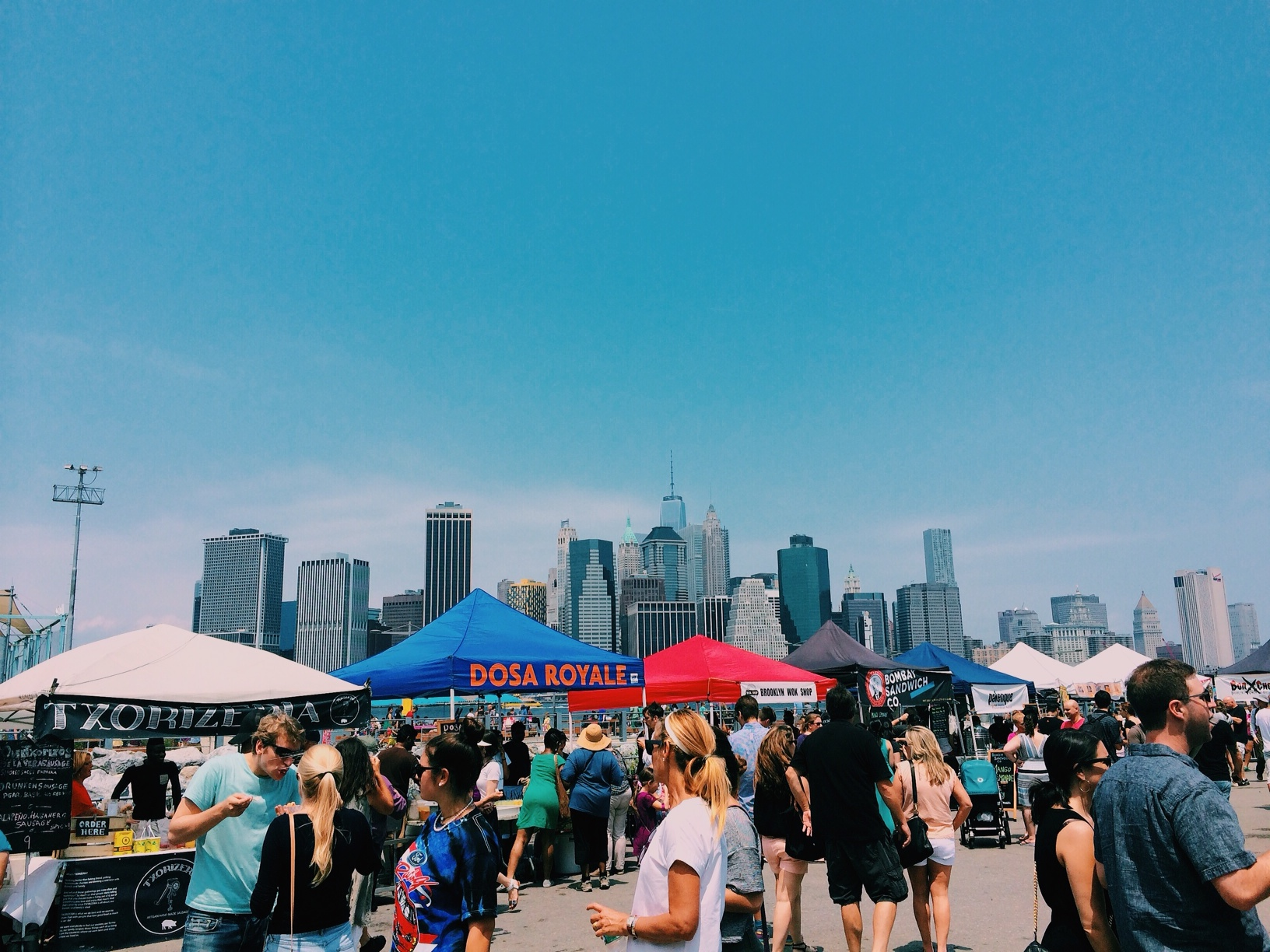 what to eat at smorgasburg food market new york city