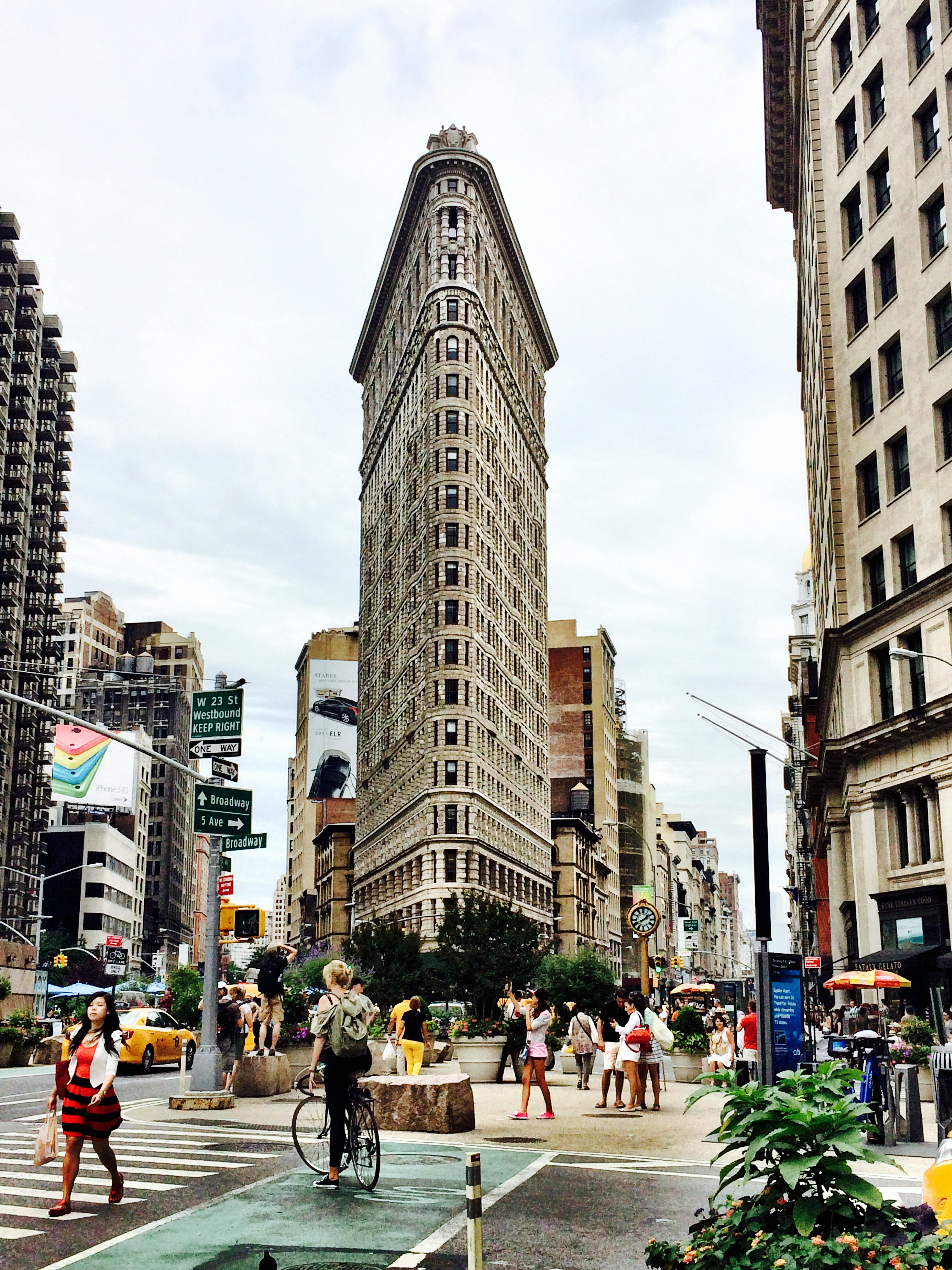 Flat Iron Building New York City