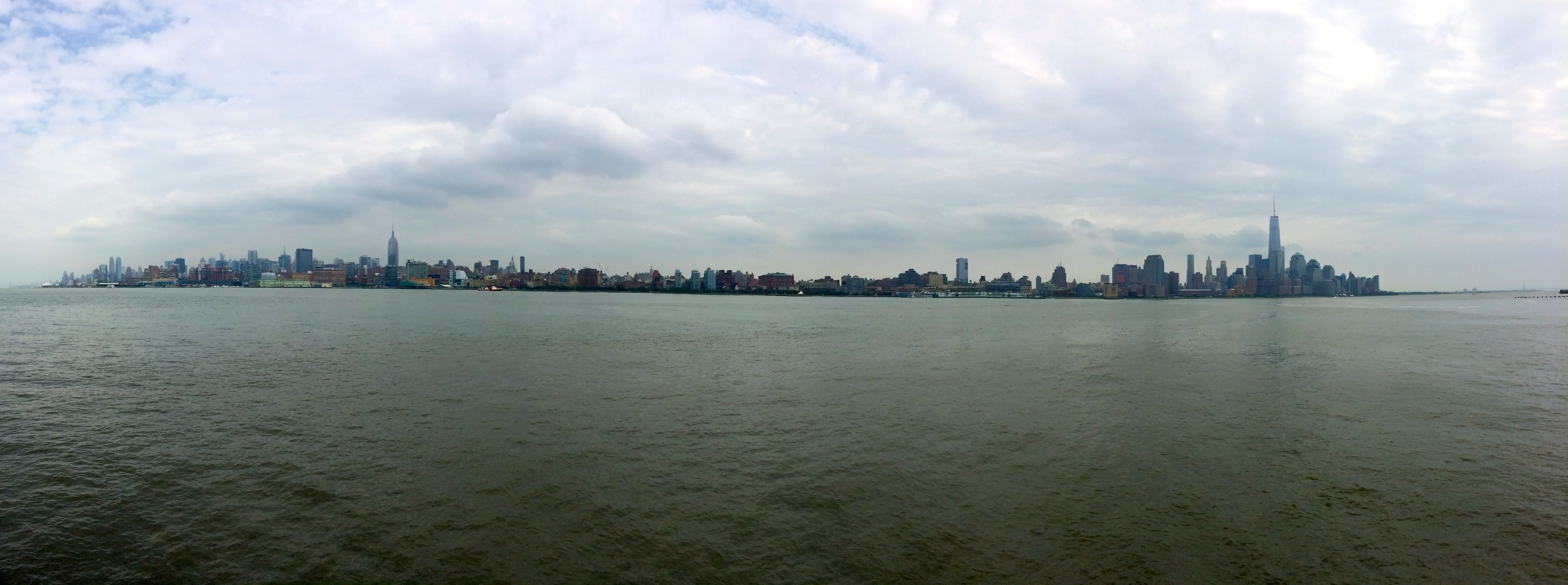 New York City Skyline from New Jersey Hoboken