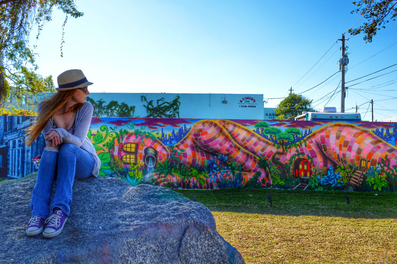 Visiting the Wynwood Walls and street art in Miami