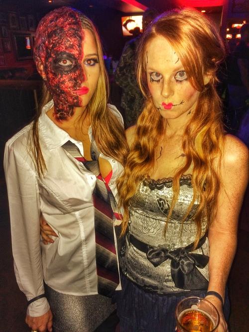 Harvey Dent Halloween costume