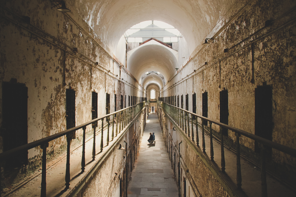 Looking for ghosts in Eastern State Penitentiary