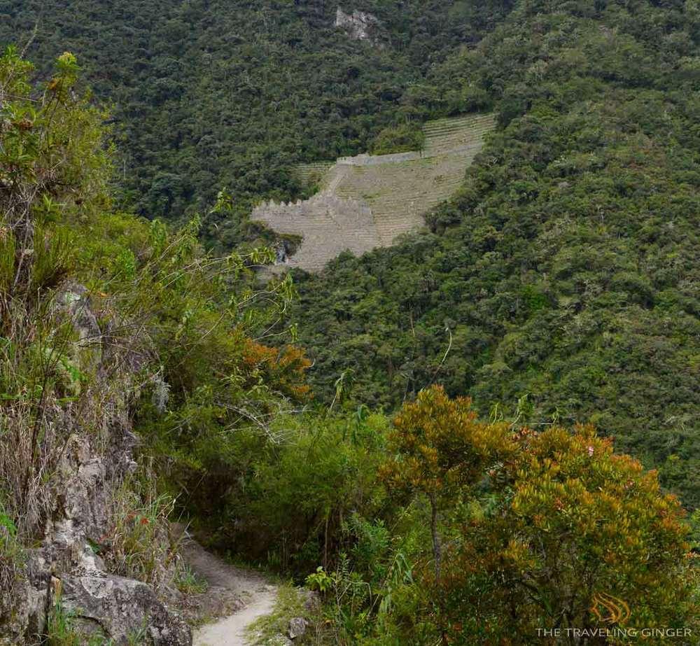 Wiñay Wayna Ruins from the Inca Trail