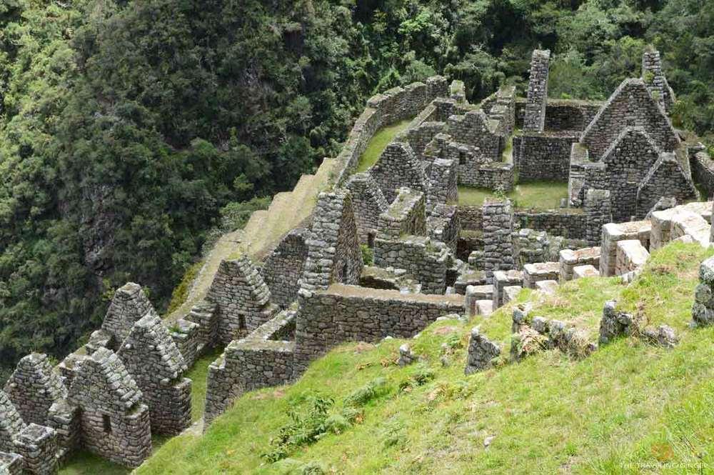 The ruins of Winay Wayna, Inca Trail