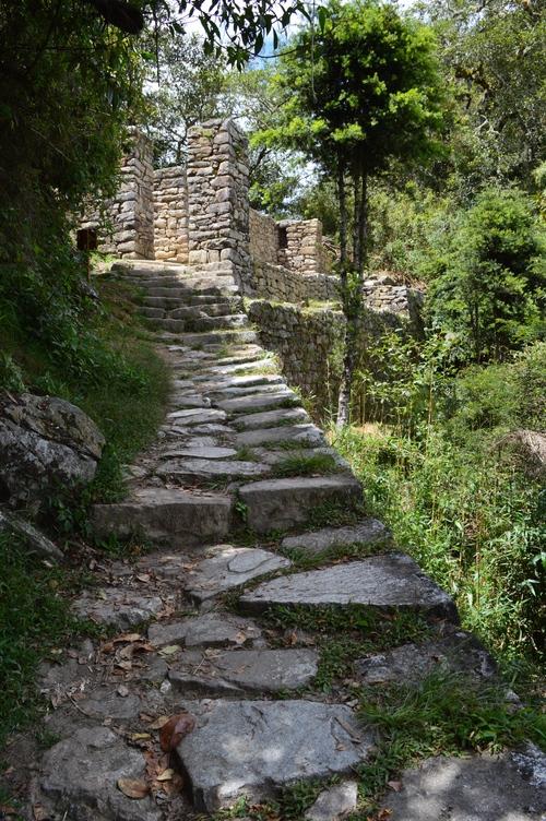 Sun Gate Machu Picchu Peru