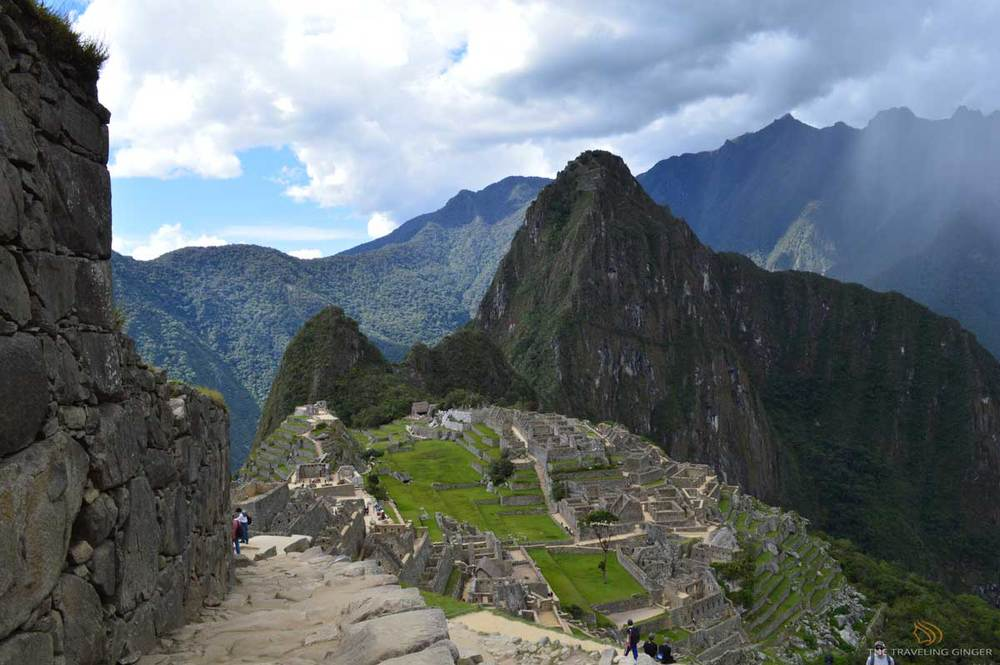 Machu Picchu Peru Contiki Inca Panorama