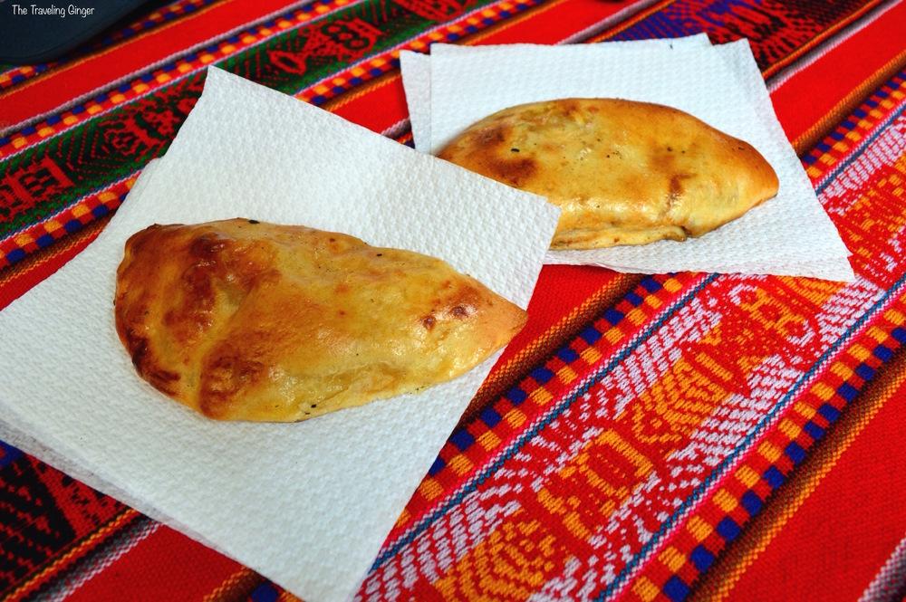 Empanada in Peru