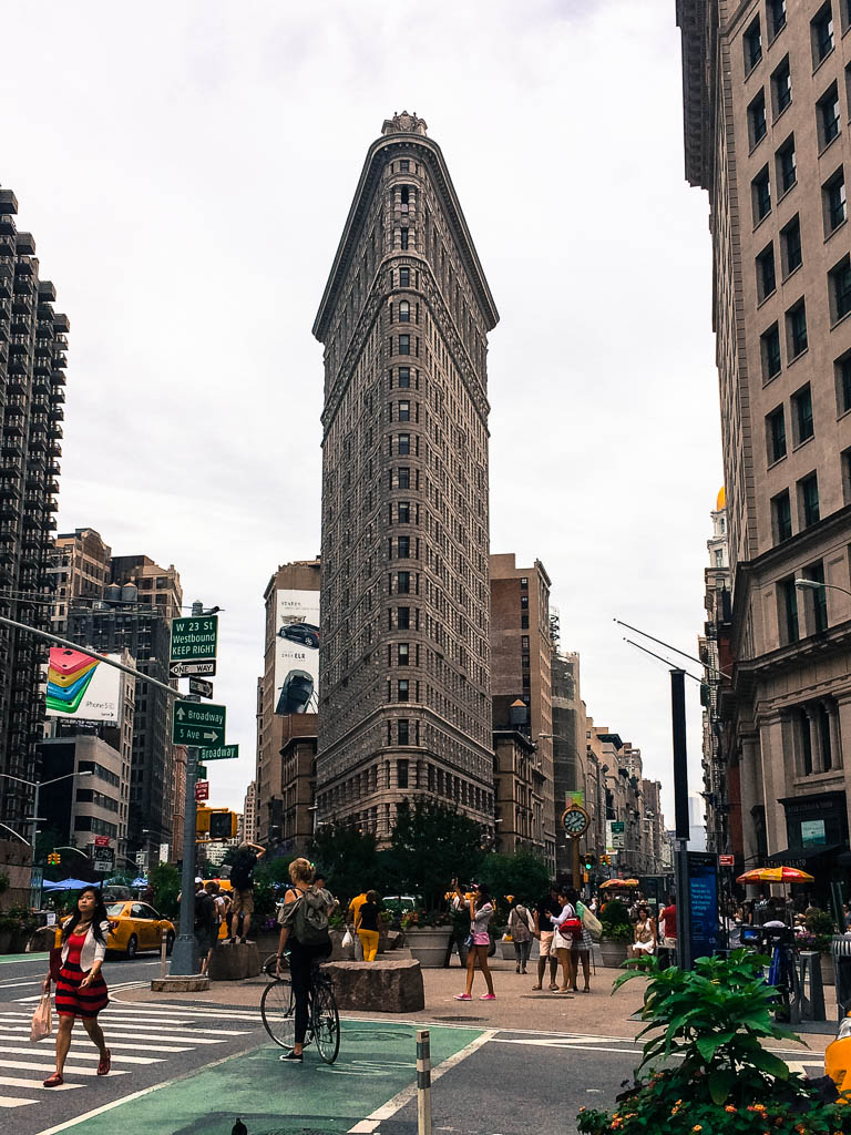 The Flat Iron Building in New York City