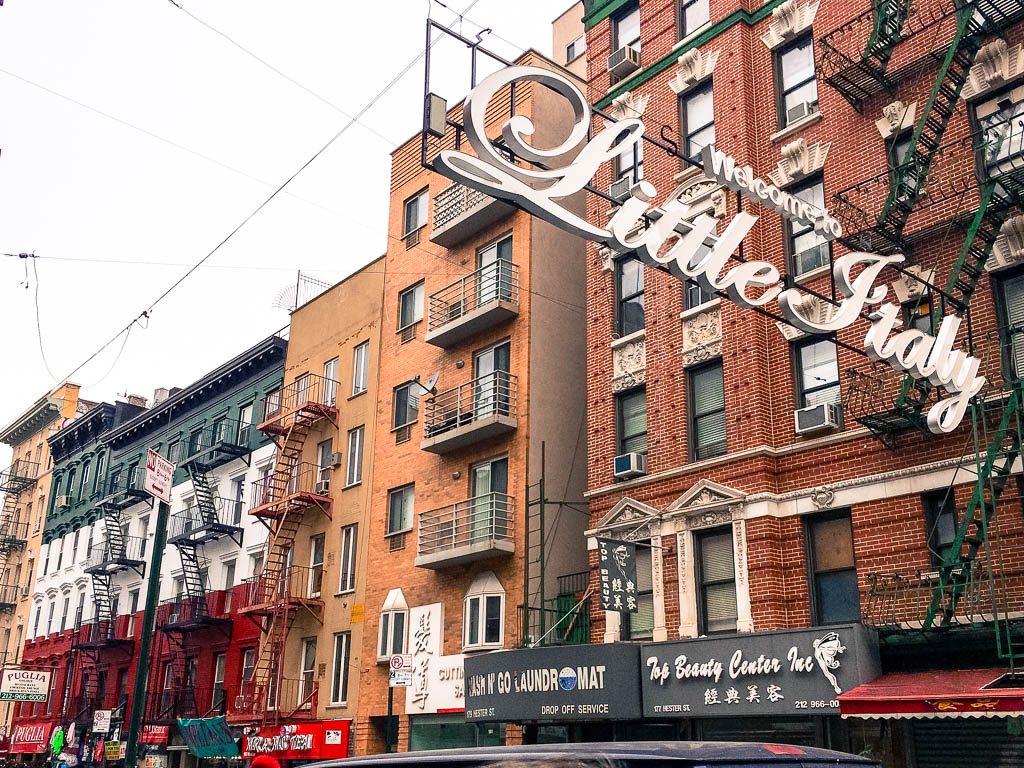 Things to do in New York City: Explore Little Italy and eat a cannoli