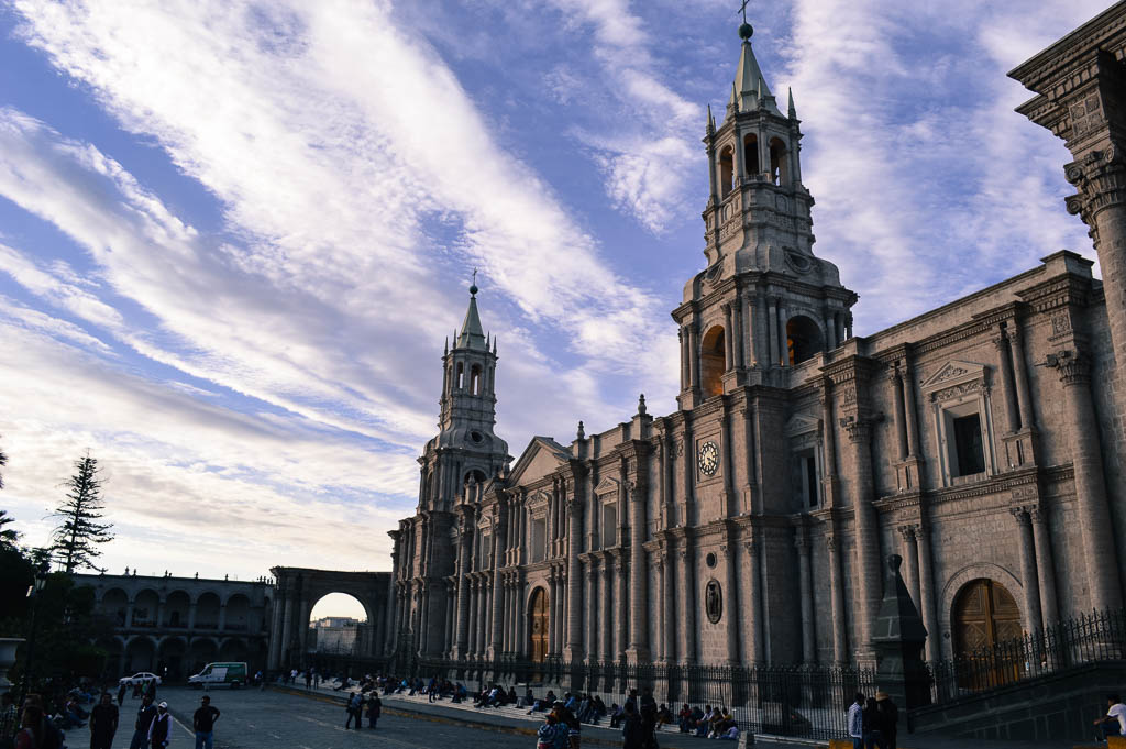 THINGS TO  SEE AREQUIPA P The Cathedral of Arequipa, Peru