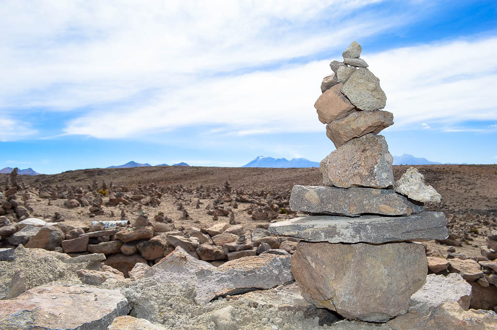 THINGS TO DO IN AREQUIPA: Mirador de Los Andes Peru Rock Stacking