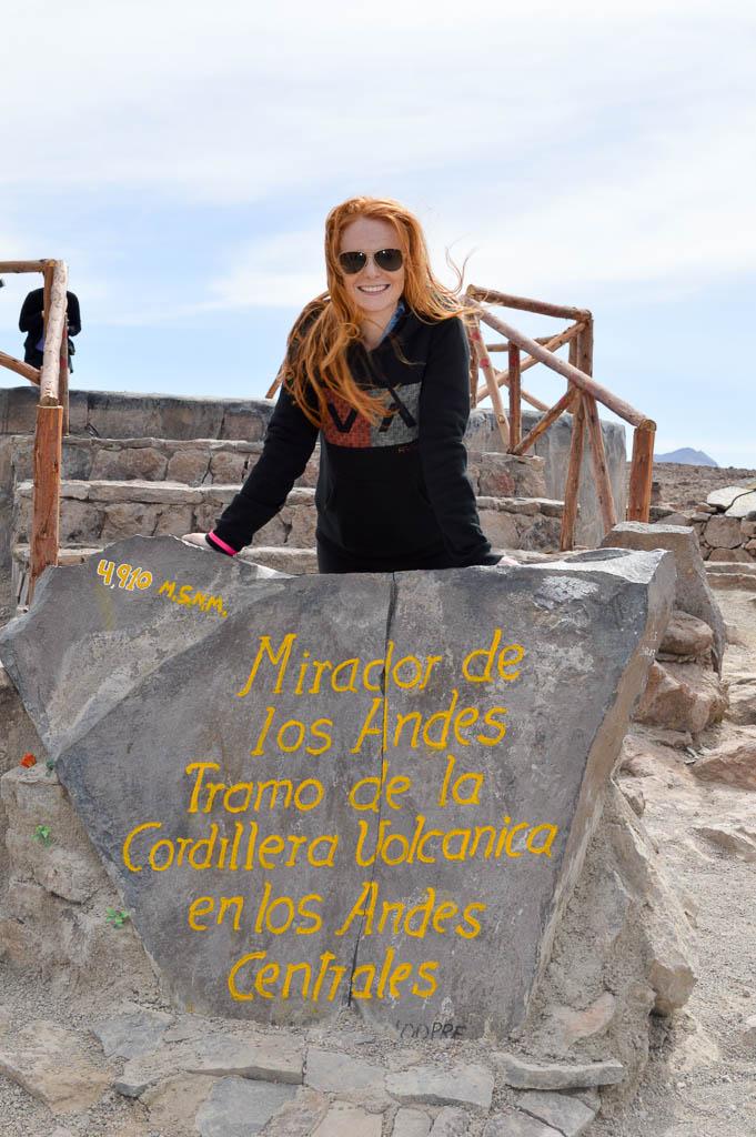 THINGS TO DO IN AREQUIPA: Mirador de Los Andes Peru