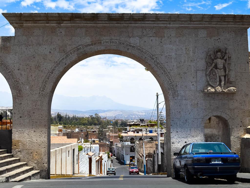 THINGS TO  SEE AREQUIPA PERU: mirador de yanahuarra