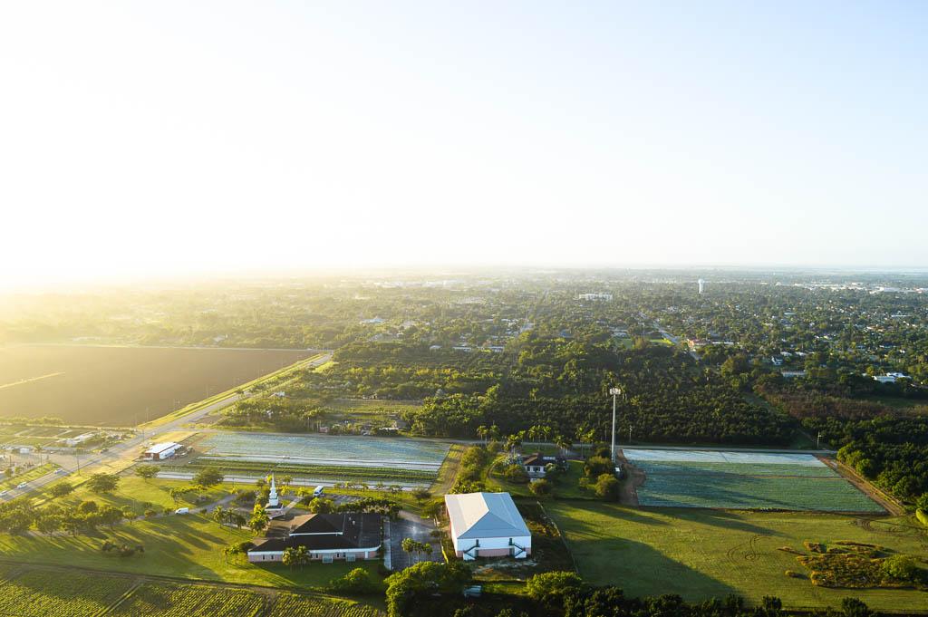 HOT AIR BALLOON RIDE IN MIAMI FLORIDA: VIEWS