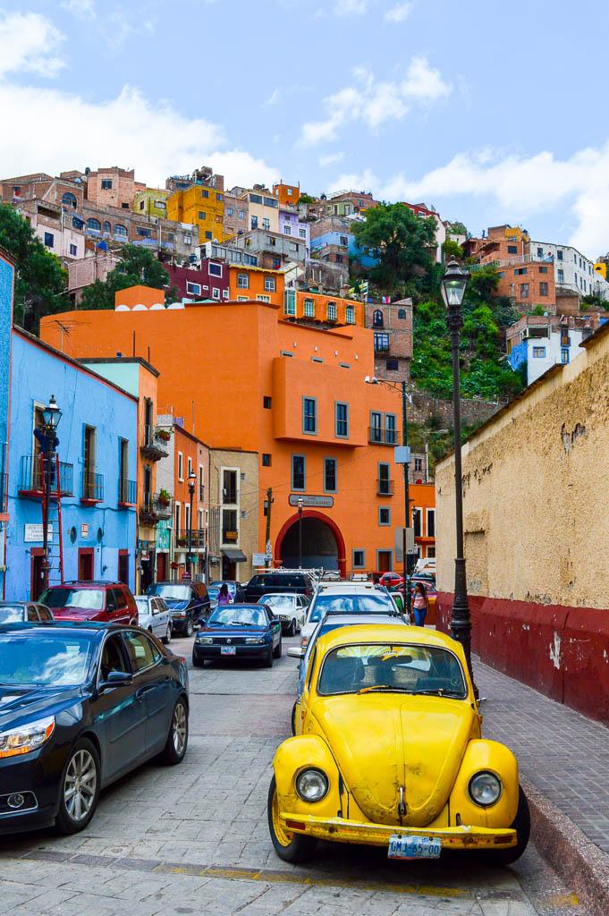 WALKING TOUR GUANAJUATO, MEXICO: VW BEETLES