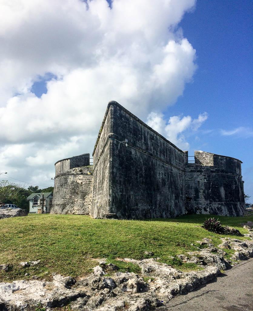 Explore Fort Fincastle in Nassau the Bahamas