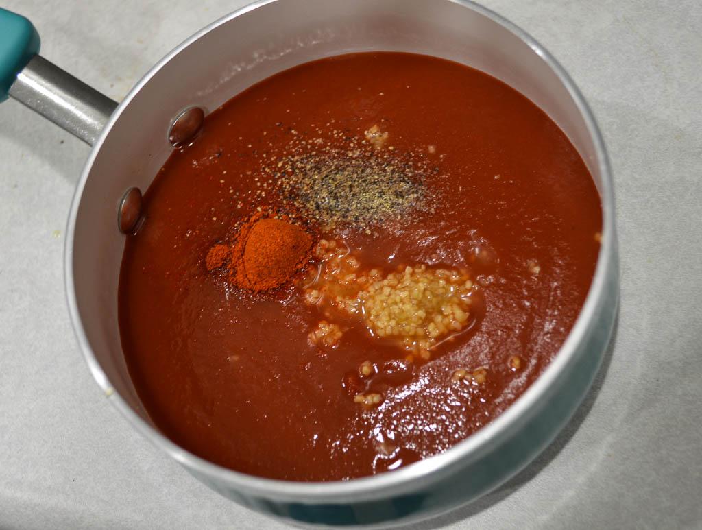 spicy tomoto sauce