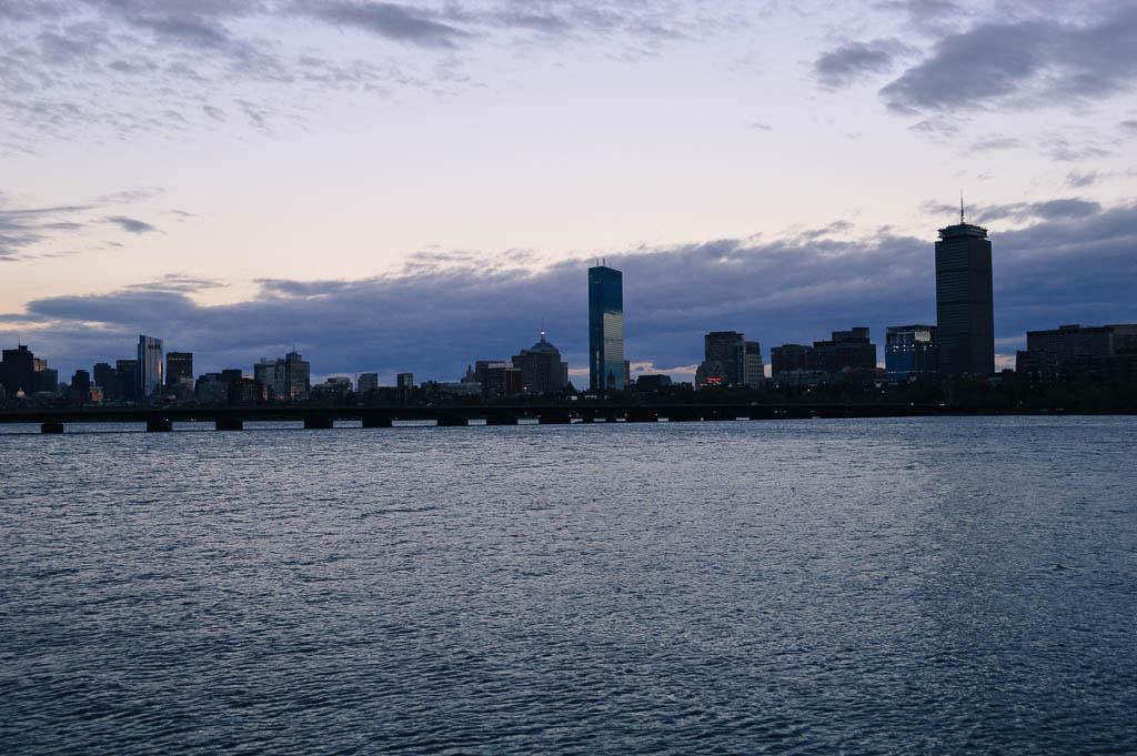 BOSTON CITY SKYLINE MASSACHUSETTS NEW ENGLAND ROAD TRIP
