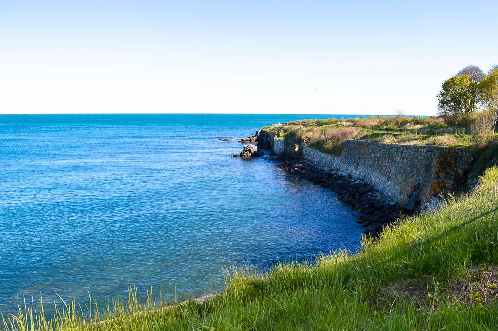 NEWPORT RHODE ISLAND CLIFF WALK NEW ENGLAND ROAD TRIP USA