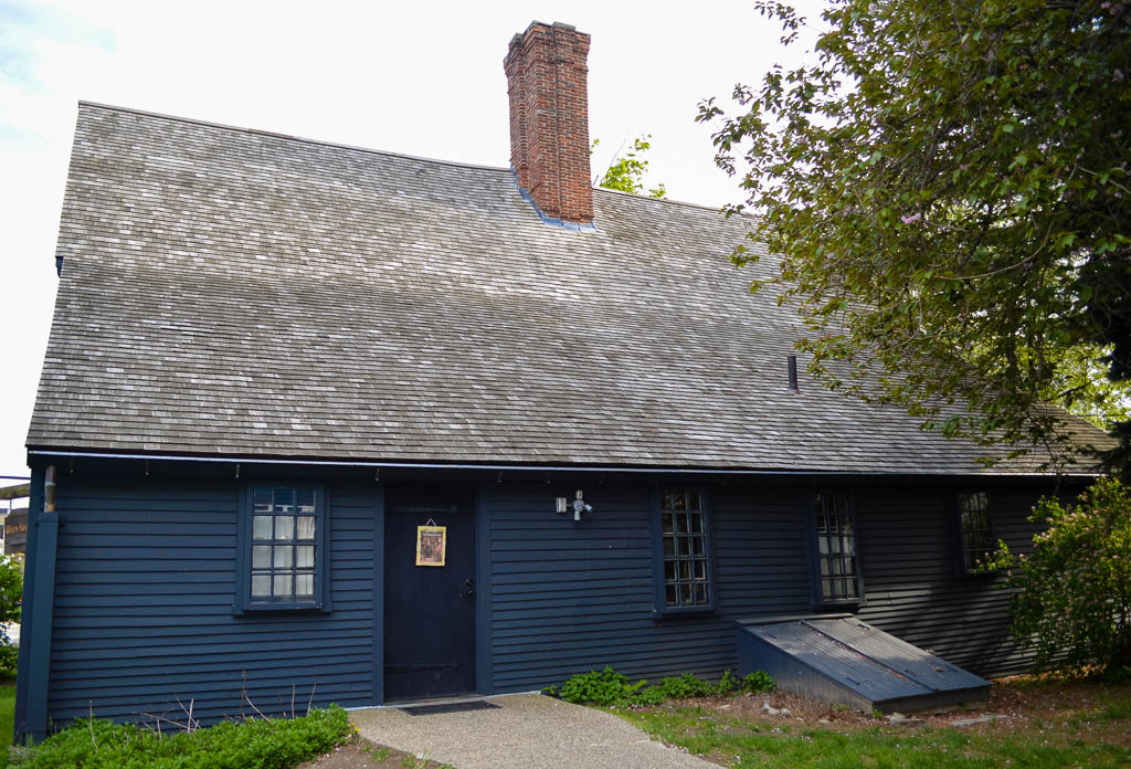 THE WITCHES HOUSE IN SALEM MA