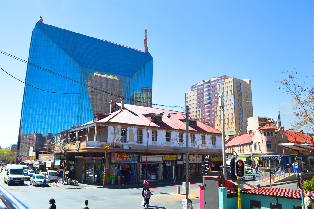 Old and the New in Johannesburg