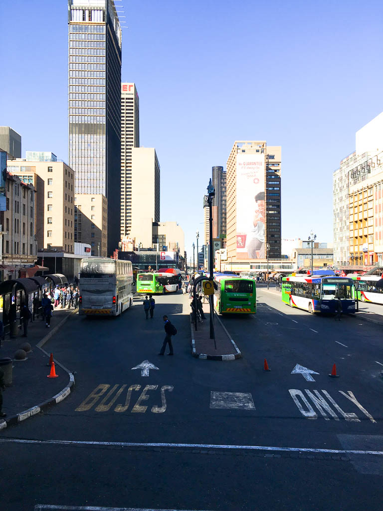 Exploring Ghandi Square in South Africa