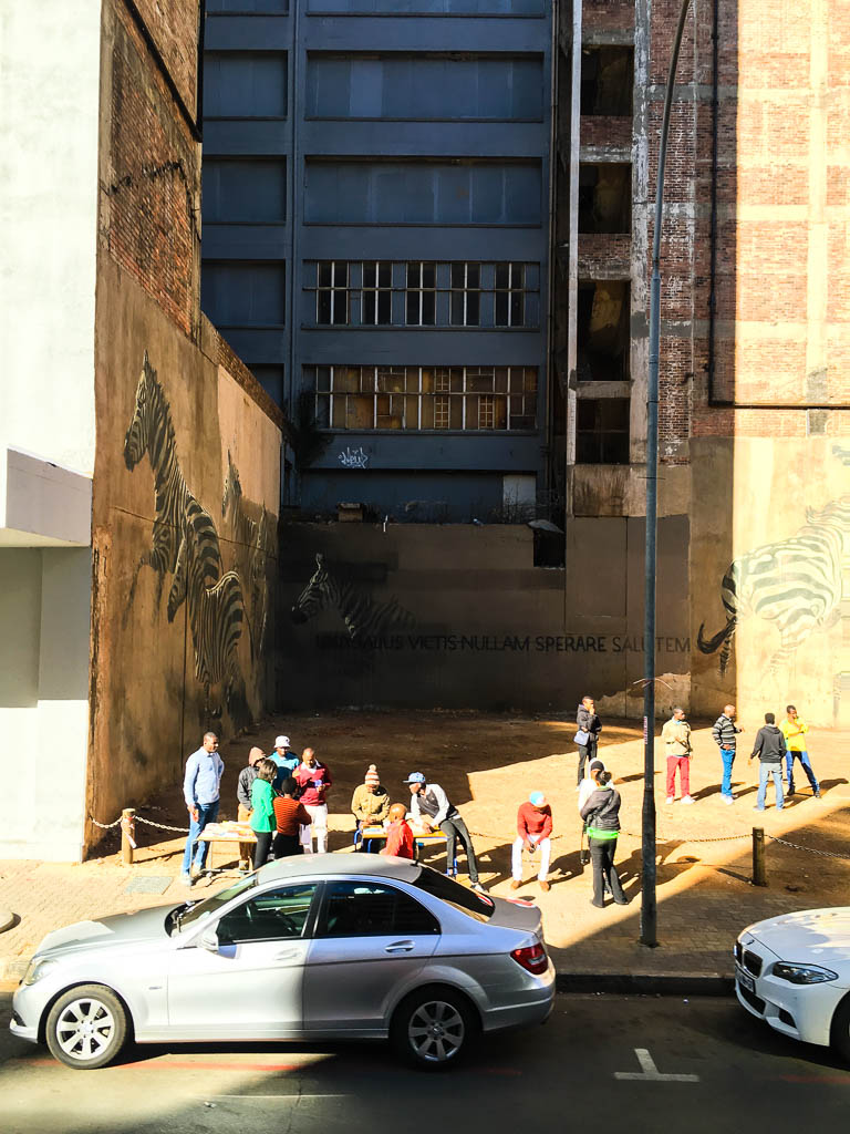 Scenes from Johannesburg on the City Sightseeing Hop on Hop off bus